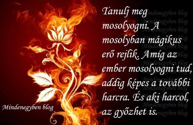 Mosolyogj